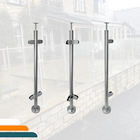 Pre Assembled Handrail Posts