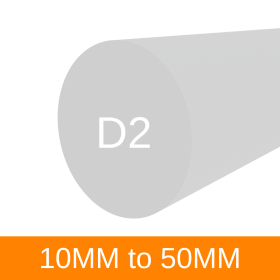 Tool Steel D2 (0-50mm)