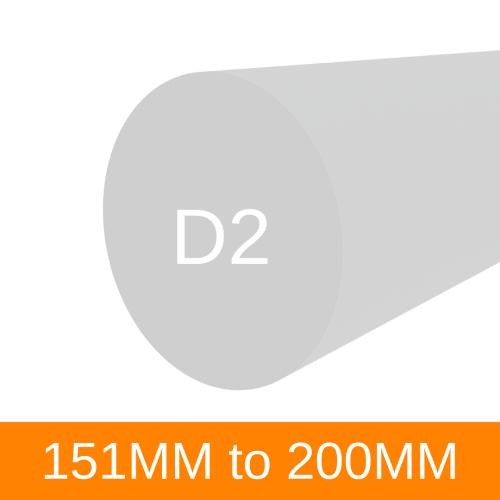 Tool Steel D2 (151-200mm)