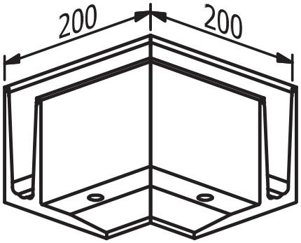 Outside Corner - Model 3010
