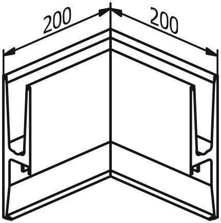 Inside Corner - Model 3011