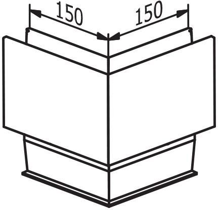 Outside corner - Model 3011