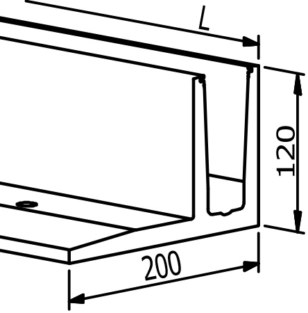 Top Mount - Model 3030