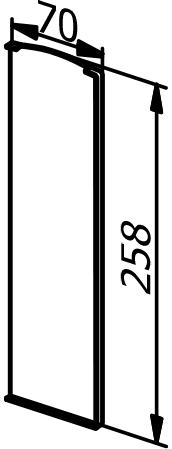 End Cap - Model 3031 - Right