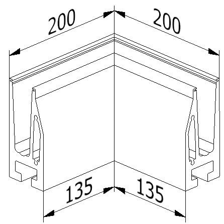 Inside Corner - Model 5010