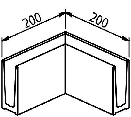 Inside/outside corner - Model 6010