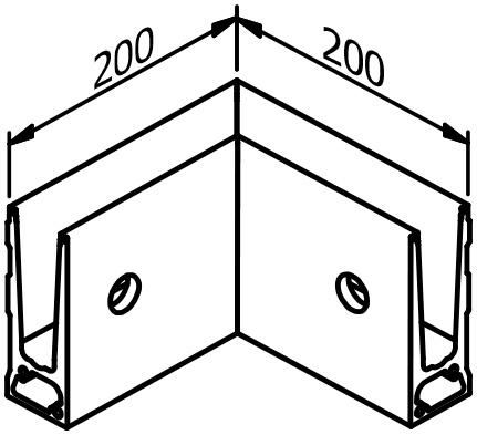 Inside Corner - Model 6011