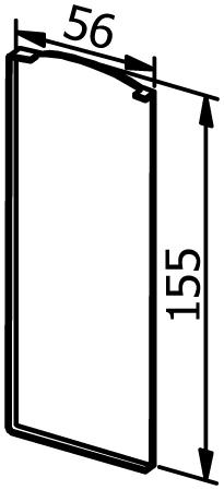 End Cap for Snap Frame - Model 6011 - Left