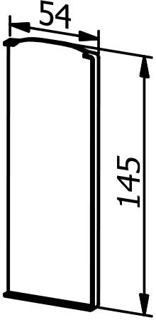 End Cap - Model 6011 - RIght