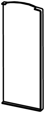 End Cap for Snap Frame - Model 6011 - Right