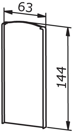 End cap left/right - Model 6020