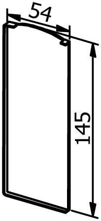 End cap left- Model 6021