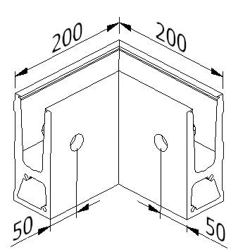 Inside Corner - Model 6031