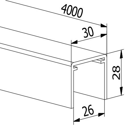 Handrail U-Profiles - Model 2114/30