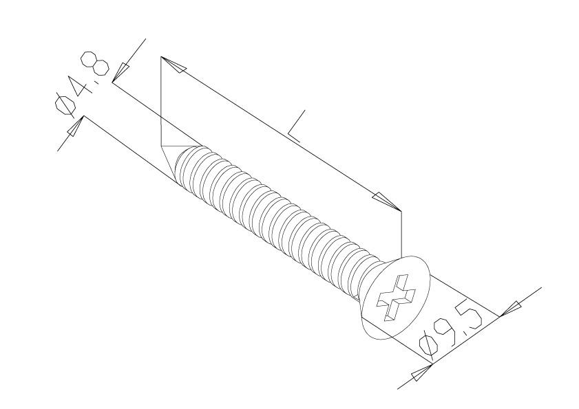 Screws (20No.) - Model 9170