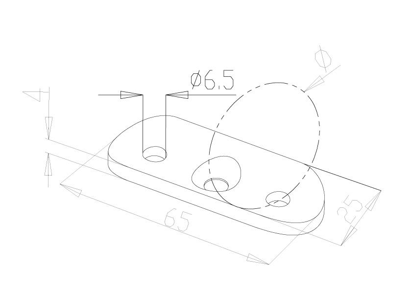 Handrail Saddles - Model 0300