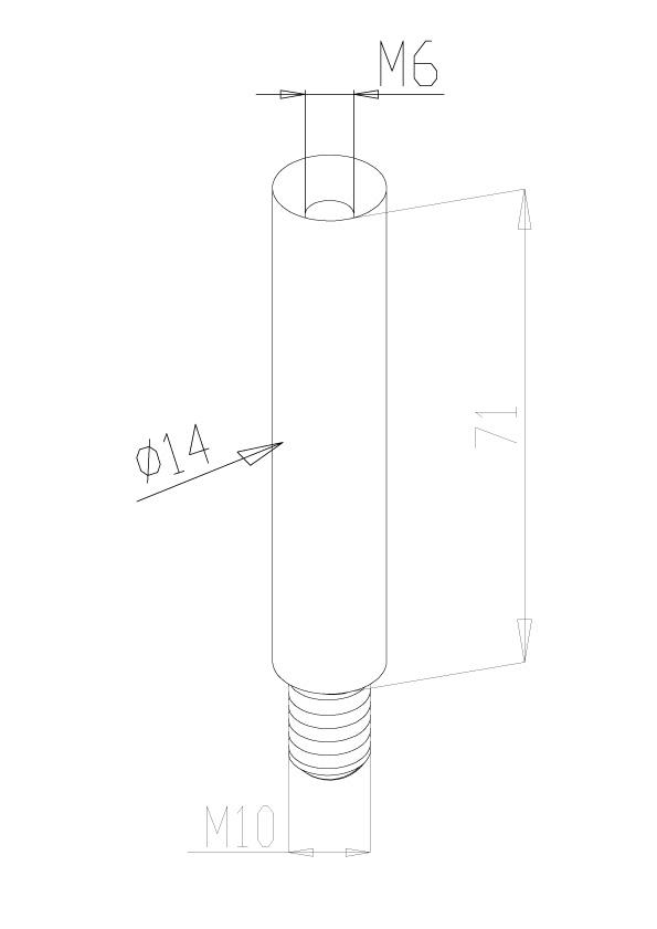 Handrail Stems - Model 0310