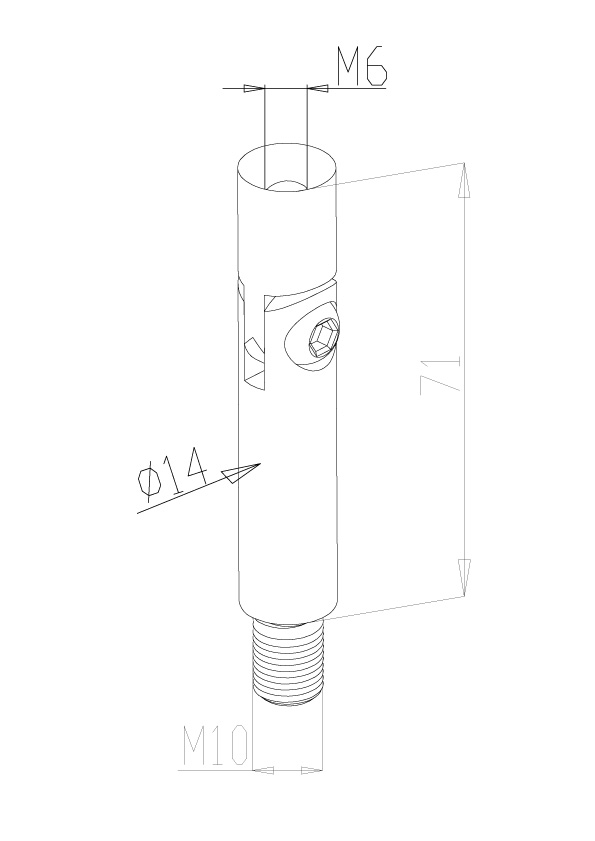 Adjustable Handrail Stems - Model 0315