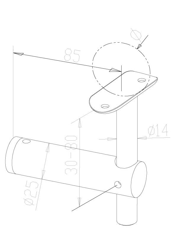 Handrail Brackets - Model 0400