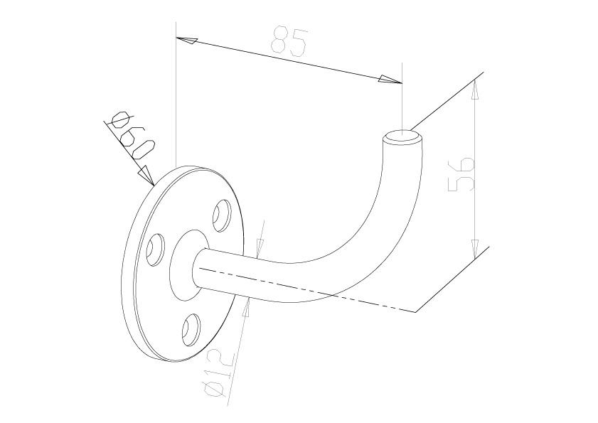 Handrail Brackets - Model 0520