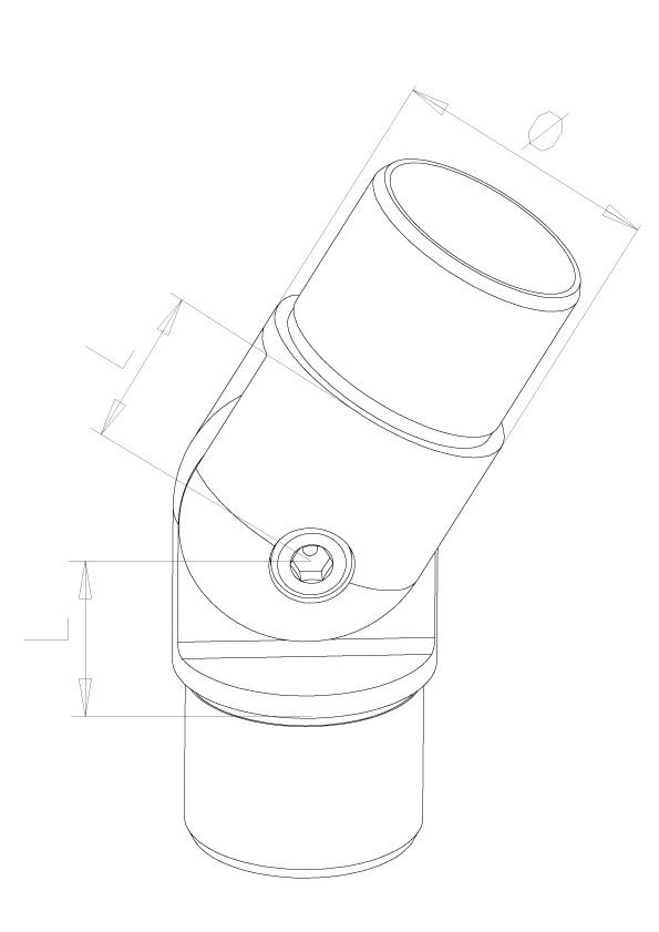 Adjustable elbows - Model 0640