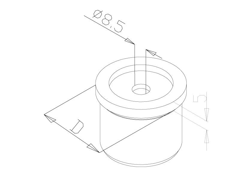 Handrail Adapters - Model 0730 - Flat