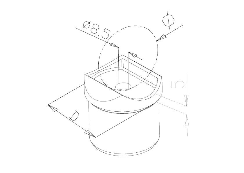 Handrail Adapters - Model 0731/0732