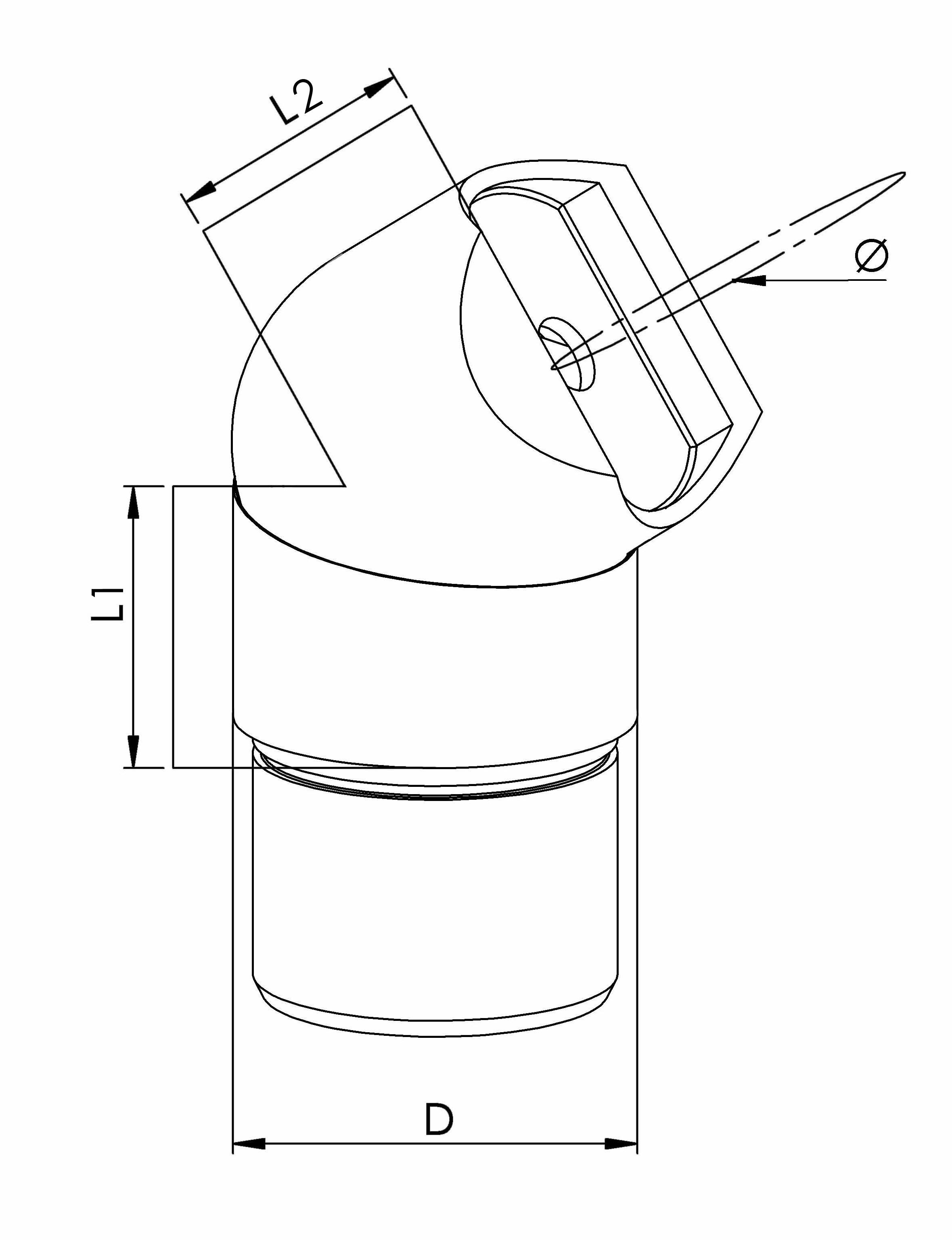 Ajustable Handrail Adapters - Model 0735