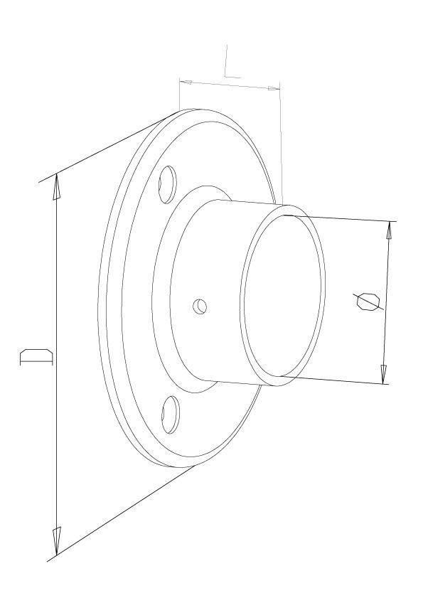 Wall Flange - Model 0740