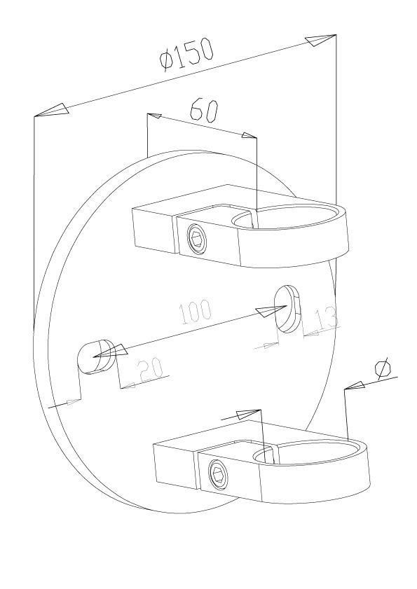 Side Fix Brackets - Model 1020