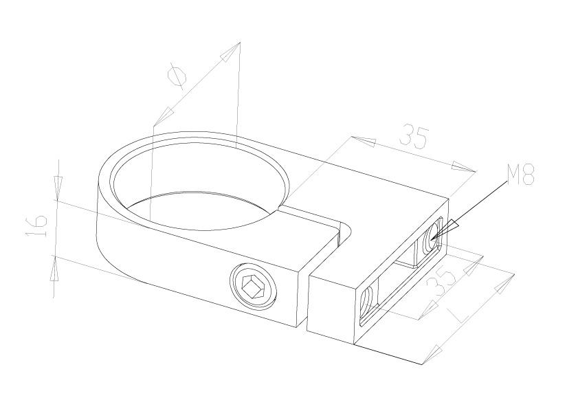 Side Fix Brackets - Model 1040