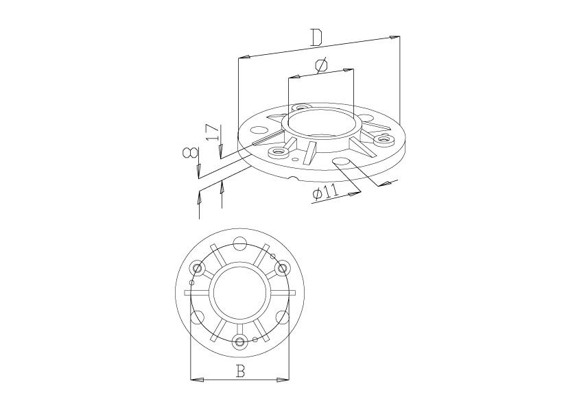 Bases Plates - Model 1100