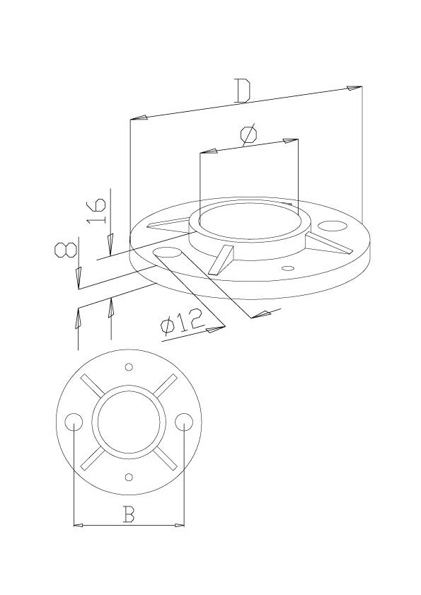 Bases Plate - Model 1110