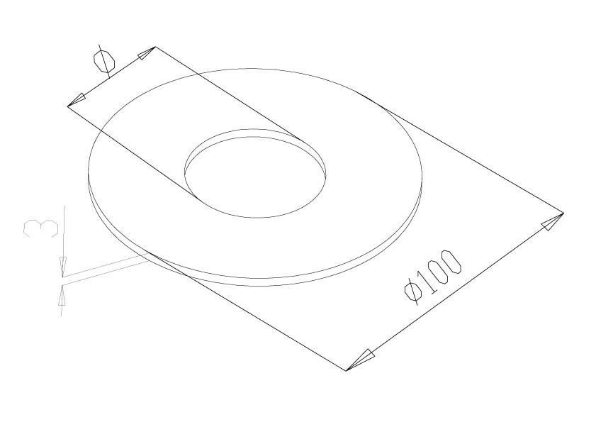 Spigot covers - Model 1280