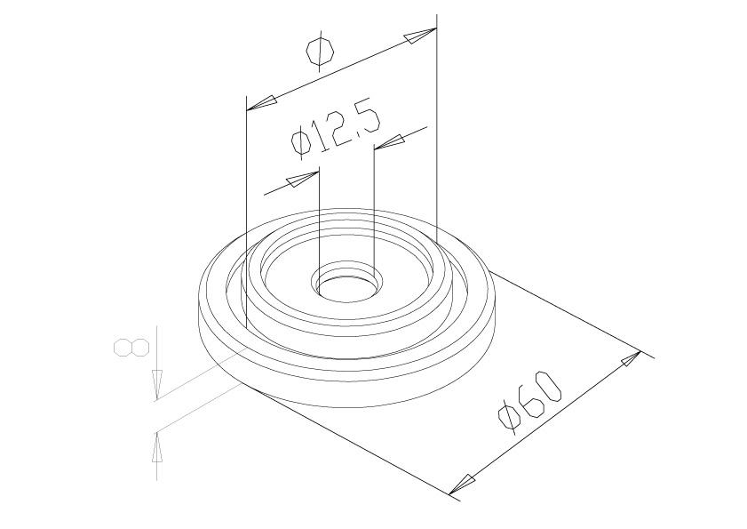 Clamp Fix Base - Model 1310