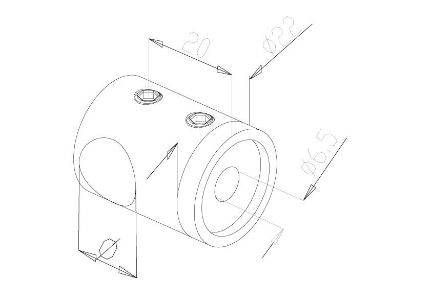 12mm Crossbar Holders - Model 2012