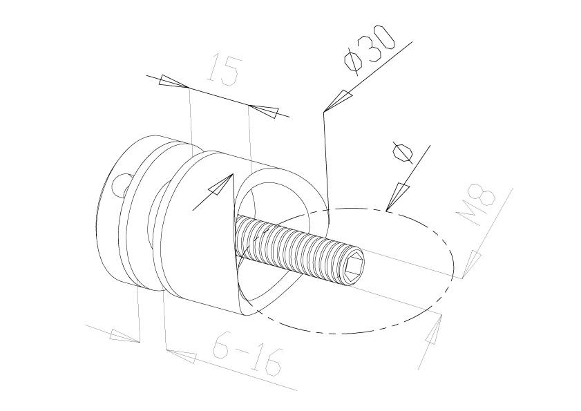 Glass Connectors - Model 4010