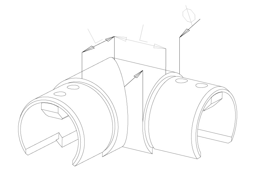 Elbow Horizontal - Model 7020