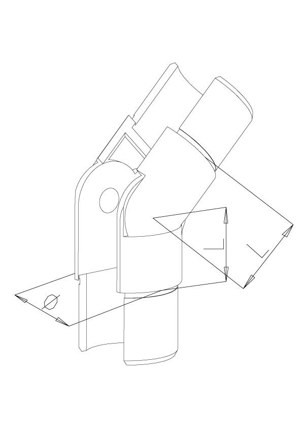 Adjustable Elbow Upwards - Model 7040