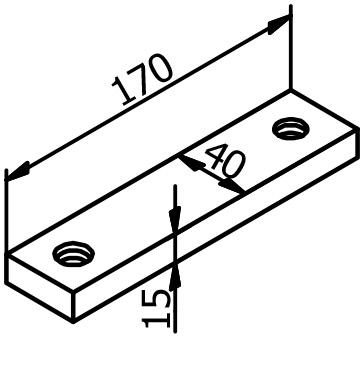 Mounting Bar - Model 7004