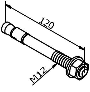 Mounting Anchor - Model 3501