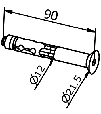 Mounting Anchor - Model 3511
