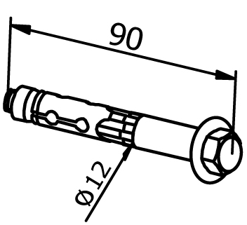 Mounting Anchor - Model 3521