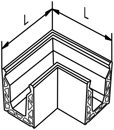 Corner - Model PGA-090