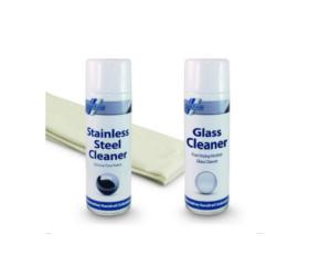Stainless Steel & Glass Cleaner Kit - Model 9027