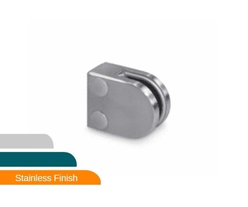 Glass clamps - Model 30 - Flat