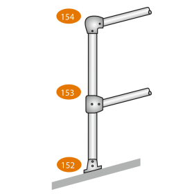 Top Post or Bottom Post 0-11 Degrees - C Clamps