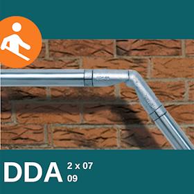 DDA Adjustable Bend and Connector Kit