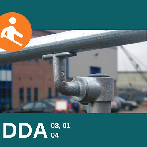 DDA Upright Connector and Bracket Kit