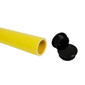 GRP Tube End Cap (Black)
